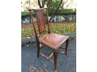 Handsome Antique Occasional Chair attributed to Scottish Architect Robert Lorrimer VGC