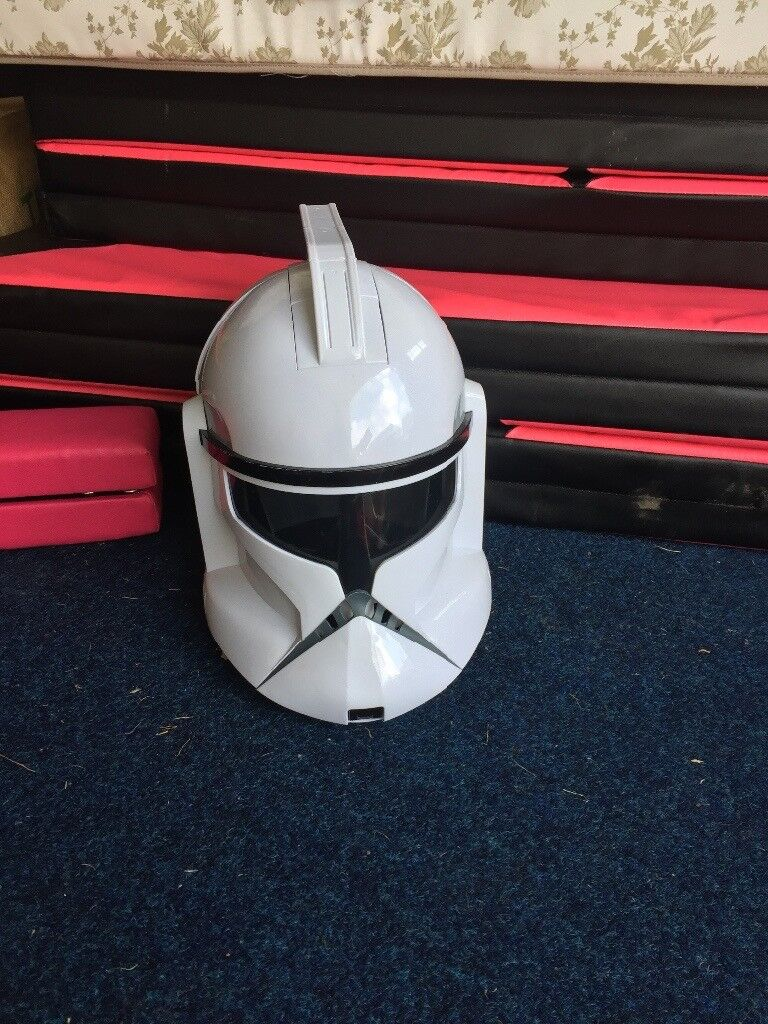 Star Wars voice changer Clone Trooper helmet