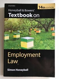 Honeyball and Bowers' Textbook on Employment Law, 14th edition, Simon Honeyball, OUP, 2016.