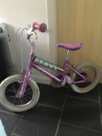 Girls 14 inch bicycle