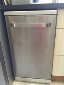 "Kenwood Slimline Dishwssher 1 year old and used twice. In perfect condition 17.5 "" x 33.5 """