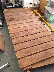 Scrap Wood FREE - perfect for shelving or burning - needs collected asap