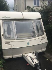 Abbey 2 berth GTS Vogue Caravan 1995 with fitted motor mover and extras