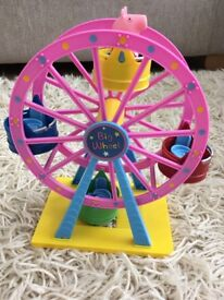 For Sale: Peppa Pig Theme Park Ferris/Big Wheel with a Peppa Pig