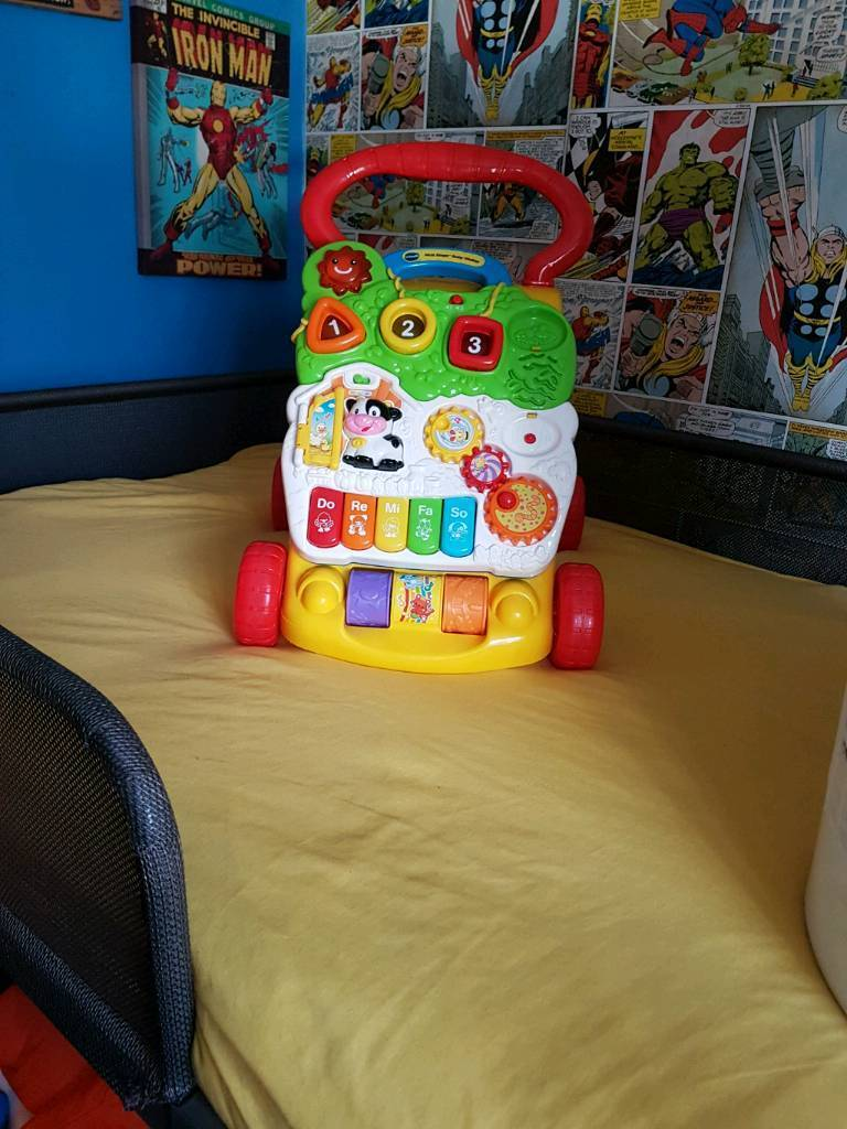 Fisher-Price walk behind baby toy