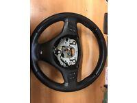 BMW M sport Leather steering wheel part no 783907501