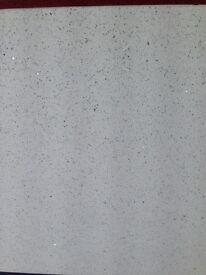 Tiles white quartz sparkle tiles