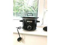Slow Cooker, 2.4 Litre, Black(Crock-Pot CSC046)