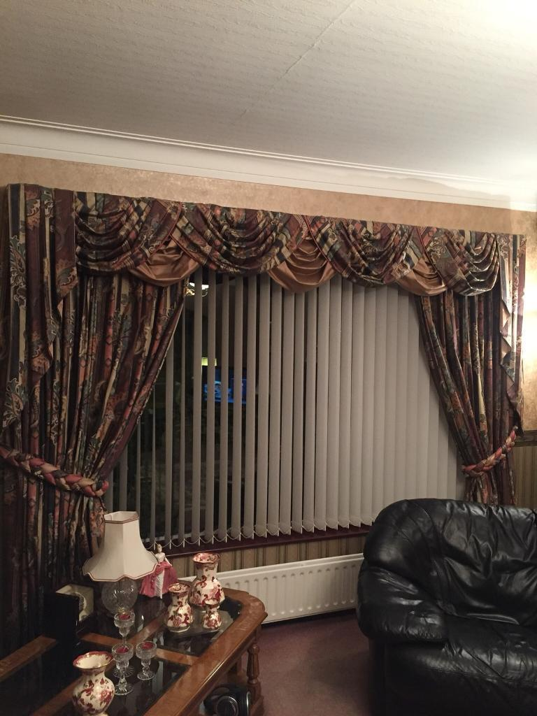 2 Pair Of Curtains Swags Amp Tails 1 Set Is For A Very