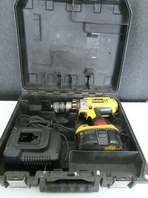 Dewalt Dc925 Hammer Drill W Dw9116 Charger Dc9069 Nicad Battery Case