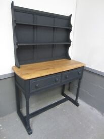 Gorgeous Ercol Console Table/Dresser Solid Elm Painted Farrow & Ball - Osmo Polyx Oil