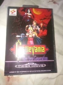 Castlevania the new generation rep
