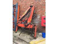 Crane 1 ton lift hi ab