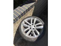 17 inch Vauxhall alloys