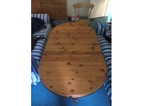 Butterfly Table and Chairs x 4