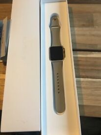 Apple Watch Series 1, Gold.
