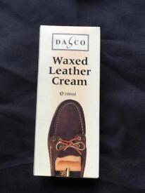Waxed Leather Cream