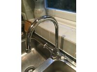 Bristan 1901 traditional kitchen tap - new ceramic cartridges - £169 new