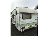 Retro caravan Cotswold Windrush 2 berth Great condition! Brilliant set up for someone starting up. B