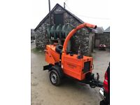 Timberwolf chipper 150