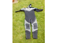 Pinnacle semi-dry suit. Size large short. Never Used.