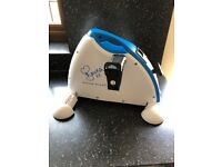 DAVINA McCALL MINI EXERCISE BIKE FITNESS TRAINER EXCELLENT CONDITION GYM SPORTS COLLECTION ROMFORD