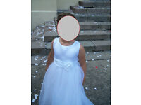 Girls Wedding Bridesmaid Communion Party Dress age 9-10