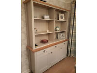 M&S dresser, Padstow design painted gray and Oak.