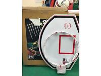 Basketball Junior Backboard Ring + Net