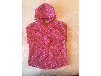 GIRLS PINK MOSHI MONSTERS CAGOULE BY TU AGE 5 - 6
