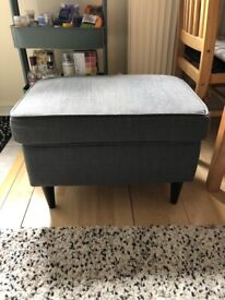 IKEA Strandmom Footstool Grey