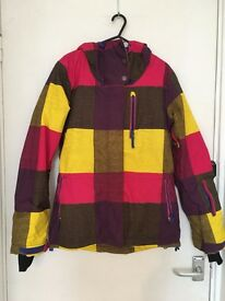 Women's ROXY snowboard jacket. Great condition. UK 8.