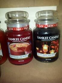 Genuine large Yankee Candles