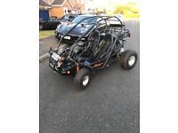 QUADZILLA 250cc ROAD LEGAL TAX AND 12 MONTHS MOT SWAP P/X RAPTOR 700