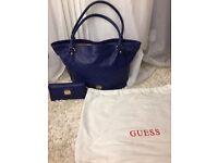 Guess handbag & matching purse