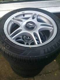 Tsw blades , bmw fitment with good tyres