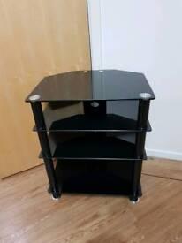 Black glass Hifi rack