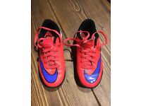 Boys football astro boots size 11