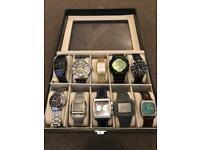 Box of 10 Watches