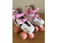 Girls roller skates size 8 to 11