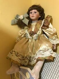 Beautiful handmade doll