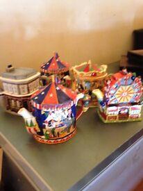 Tea pot collection x5