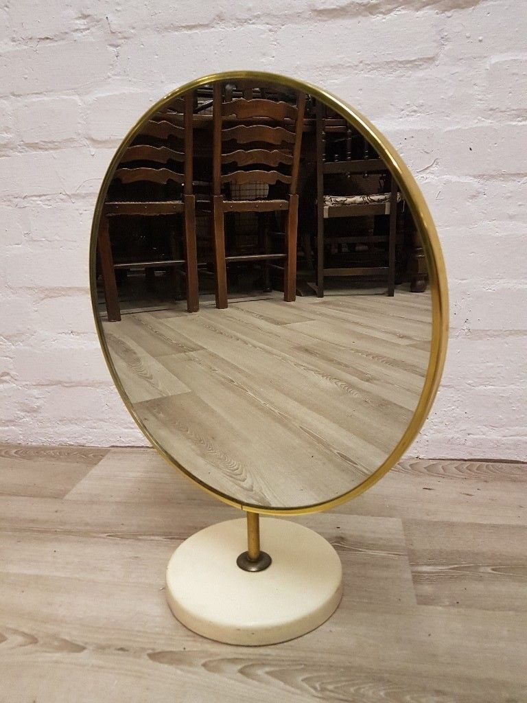 Vintage Dressing Table Mirror Delivery Available In Glasgow