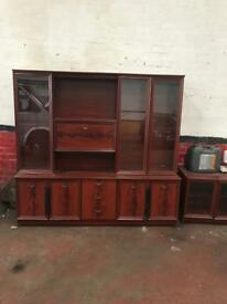 Display cabinet and side table for sale good clean condition