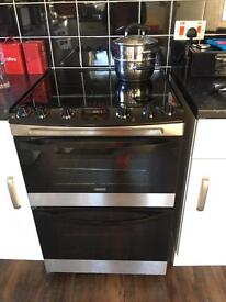 Zanussi induction hob electric cooker excellent condition 6 months old with invoice available