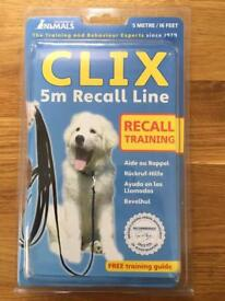 BRAND NEW 5m Recall Line for Dogs