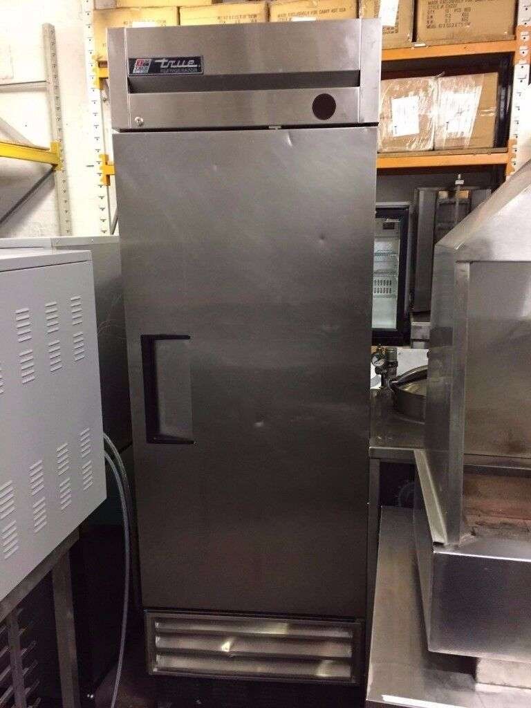 TRUE Upright Fridge Stainless Steel EU35 (nov)