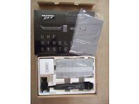 Trantec S4.4 UHF Handheld Wireless Microphone System ( licence-free Radio Mic )