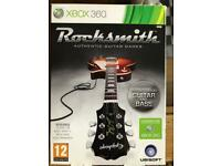 Rocksmith game with lead for Xbox 360