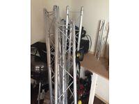Chauvet goal post lighting stand